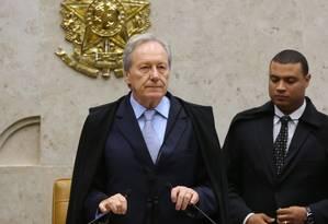 O ministro Ricardo Lewandowski (07-04-2016) Foto: Ailton Freitas / Agência O Globo