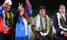 Maduro, Cristina, Morales e Correa: reviravoltas Foto: Reprodução