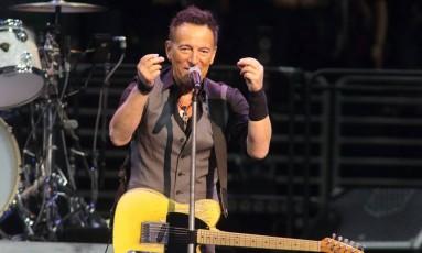 Show de Bruce Springsteen na Filadélfia Foto: Owen Sweeney / Invision/AP