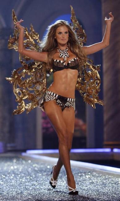 Em 2007, durante desfile da Victoria's Secret em Hollywood Mario Anzuoni / Reuters