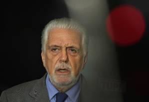 O ministro-chefe do Gabinete Pessoal da Presidente da República,Jaques Wagner, durante entrevista Foto: Givaldo Barbosa / Agência O Globo