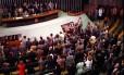 Sessão da Câmara que definiu o impeachment de Collor