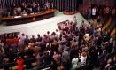 Sessão da Câmara que definiu o impeachment de Collor Foto: Gustavo Miranda / Gustavo Miranda / 29-12-2=1992