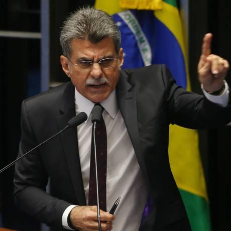 O senador Romero Jucá (PMDB-RJ) Foto: Ailton Freitas / Agência O Globo / 5-4-2016