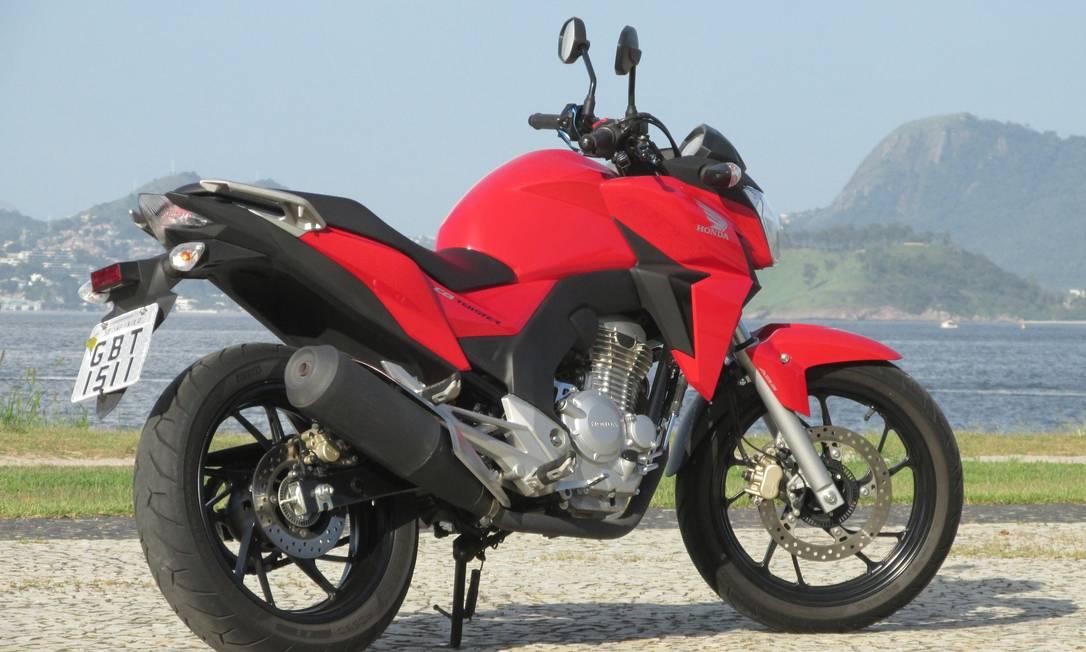 Nova Honda CB 250 Twister: a razão pesa mais do que a ...