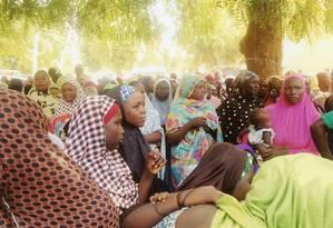 NIGERIA / MAIDUGURI 14/00023 Deslocados pela violência do Boko Haram recebem ajuda de emergência na Nigéria Foto: Unknown / Aid to the Church in Need
