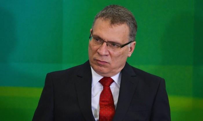 O ministro da Justiça, Eugênio Aragão Foto: Aílton de Freitas / Agência O Globo / 17-3-2016