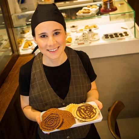 Iguarias da Biscoiteca, uma loja de biscoitos gourmet e artesanais Foto: Agência O Globo / Bárbara Lopes