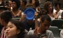 Estudantes protestam na assembleia legistlativa e pedem abertura de CPI para investigar e punir envolvidos no esquema 29-03-2016 Foto: Marcos Alves / Agência O Globo