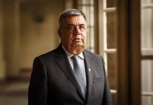 O presidente da Alerj foi alvo de condução coercitiva na última quarta-feira Foto: Fernando Lemos / O Globo
