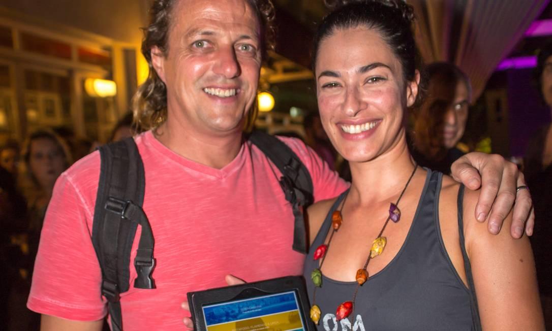 O chef francês Olivier Cozan conheceu o app junto com a esposa, Ana Tonani Mariana Annunziato