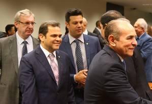 Reunião do Bancada do PMDB na Câmara Foto: Ailton de Freitas / Agência O Globo