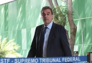 Ministro da AGU, José Eduardo Cardozo no Supremo Tribunal Federal Foto: Jorge William / Agência O Globo