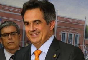 O presidente nacional Partido Progressista (PP), senador Ciro Nogueira Foto: Ailton de Freitas / Agência O Globo