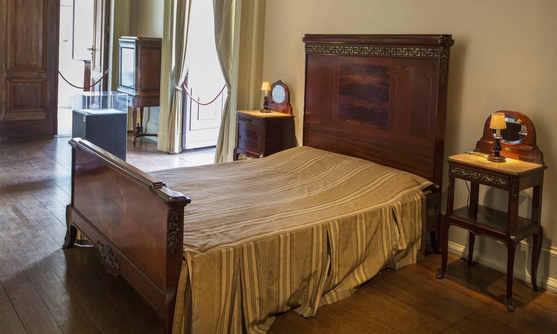 O quarto de Getulio Vargas é um dos locais mais visitados no Museu da República. Ana Branco / Agência O Globo