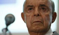 O governador em exercício, Francisco Dornelles Foto: Thiago Freitas / Agência O Globo