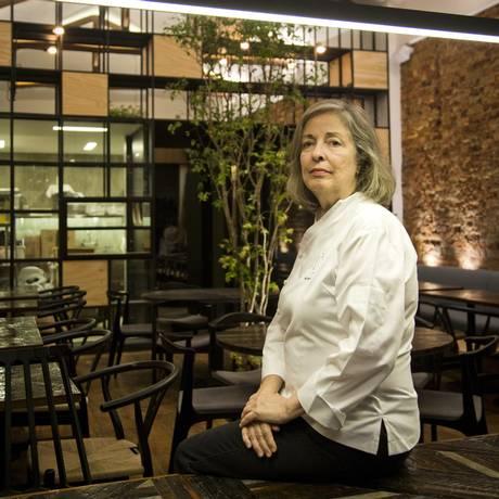 A chef de raw food Inês Braconnot comandará a cozinha 100% crua do restaurante Ró, no Jardim Botânico Foto: Guito Moreto
