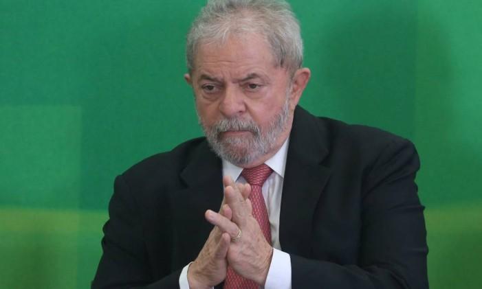 O ex presidente Lula Foto: ANDRE COELHO / Agência O Globo