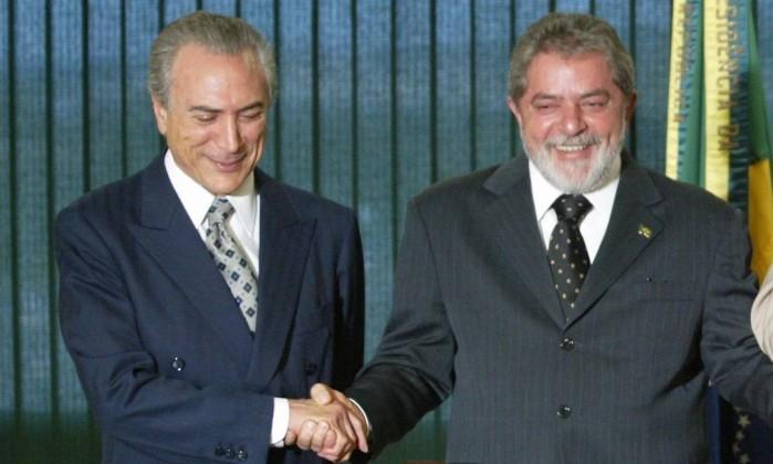 Resultado de imagem para Michel Temer defende Lula