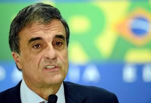 José Eduardo Cardozo, advogado-geral da União Foto: EVARISTO SA / AFP