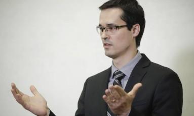 O procurador da Lava-Jato Deltan Dallagnol Foto: Fábio Seixo / Agência O Globo