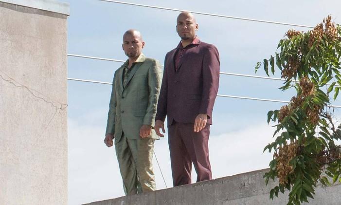 Cruzes: Daniel e Luis Moncada revivem os primos Salamanca Foto: Reprodução