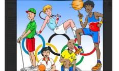 Cartilha das olimpíadas Foto: Divulgação