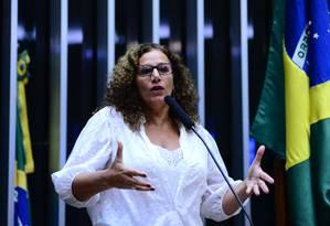 PCdoB lança pré-candidatura da deputada Jandira Feghali Foto: NILSON BASTIAN/Câmara dos Deputados / Divulgação