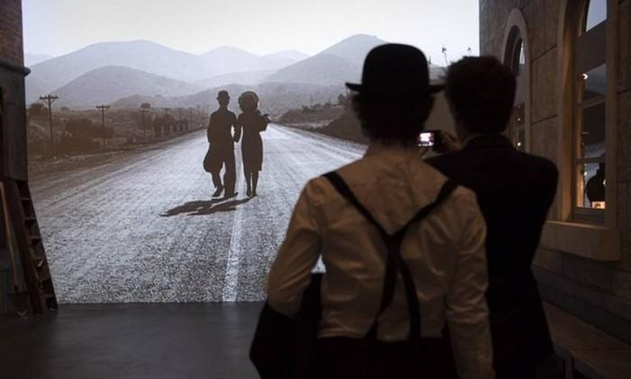 Museu Chaplin's World, na Suíça Foto: Laurent Gillieron / AP