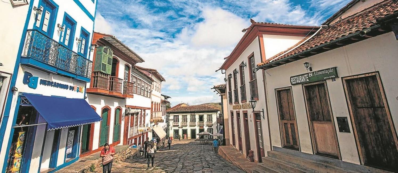 Casario: o centro histórico de Diamantina, em Minas Foto: Ministério do Turismo/Divulgação
