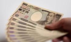 Notas de iene Foto: Bloomberg