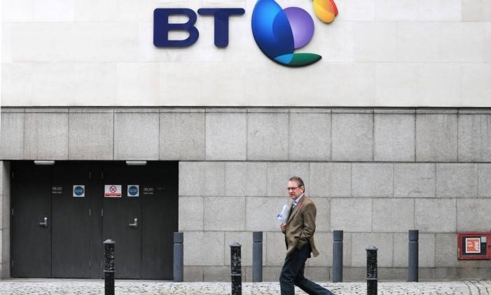 Sede da British Telecom, em Londres Foto: BLOOMBERG NEWS