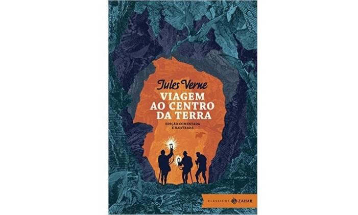 Capa de 'Viagem ao centro da terra' Foto: Reprodução