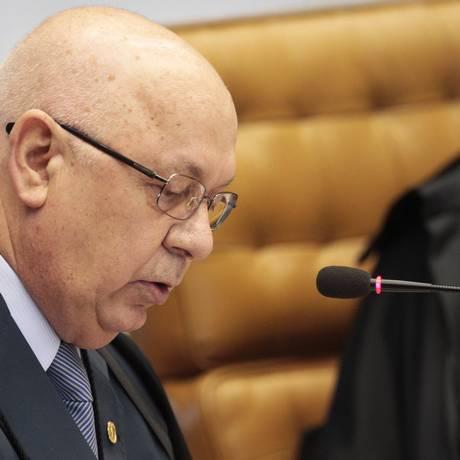 O ministro Teori Zavascki, relator da Lava Jato no Supremo Tribunal Federal Foto: Jorge William/ Agência O Globo