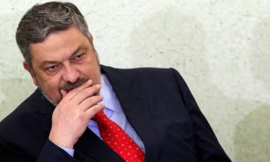 O ex-ministro da Casa Civil Antonio Palocci Foto: Gustavo Miranda/ Agência O Globo