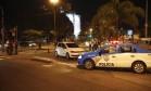 O carro em que as vítimas foram sequestradas Foto: Agência O Globo / Alexandre Cassiano