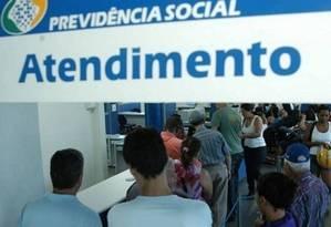 Posto de atendimento da Previdência Social Foto: Divulgação