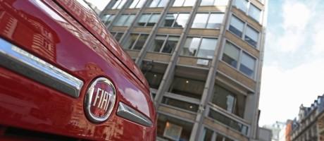 Sede da Fiat em Londres: investigação encontrou indício de fraude Foto: Chris Ratcliffe / Bloomberg