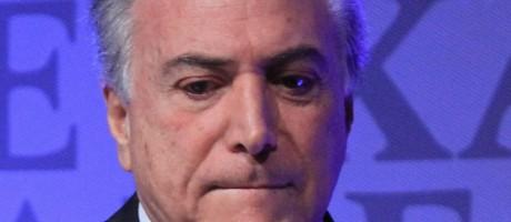 O vice-presidente Michel Temer Foto: 31-08-2015/ Marcos Alves/ Agência O Globo
