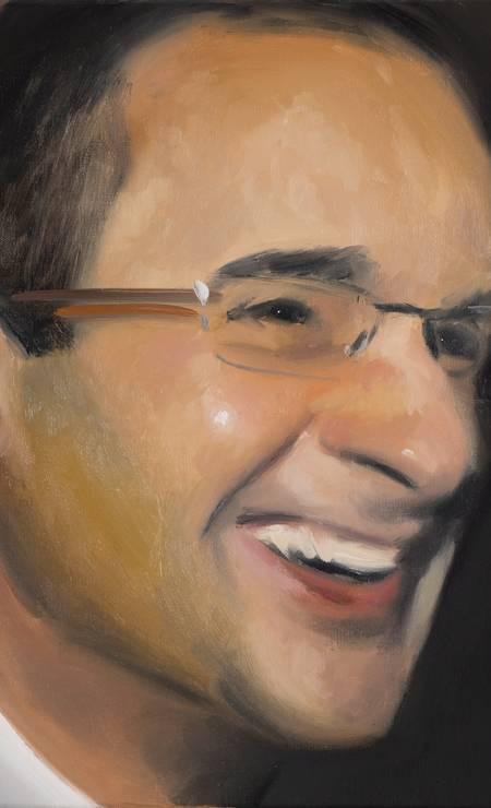 O empreiteiro Marcelo Odebrecht, retratado por Gabriel Giucci Foto: Leandro Viana / Agência O Globo