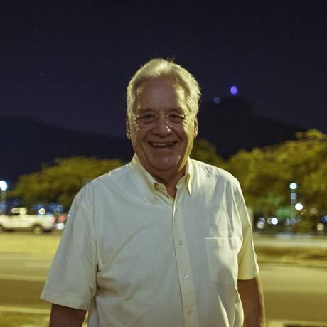 O ex-presidente Fernando Henrique Cardoso Foto: Daniel Marenco / Agência O Globo / 15-4-2016