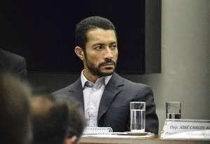 O lobista Fernando Baiano é ouvido no Conselho de Ética da Câmara dos Deputados Foto: Ricardo Botelho/Brazil Photo Press/26-4-2016