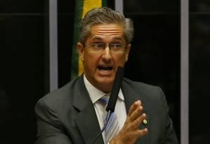 O deputado Rogério Rosso (PSD-DF) Foto: Ailton de Freitas / Agência O Globo / 17-4-2016