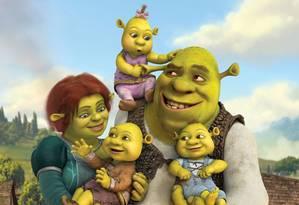 """O último filme da sequência, """"Shrek para sempre"""" Foto: Divulgação"""