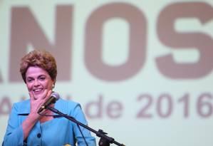 Dilma participa de Cerimônia de abertura da Conferência Nacional de Direitos Humanos Foto: André Coelho / Agência O Globo