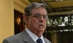 Desistência. O criminalista Mariz de Oliveira, tido como um dos preferidos para a pasta, foi descartado por Temer Foto: Regis Filho/Valor/16-10-2012