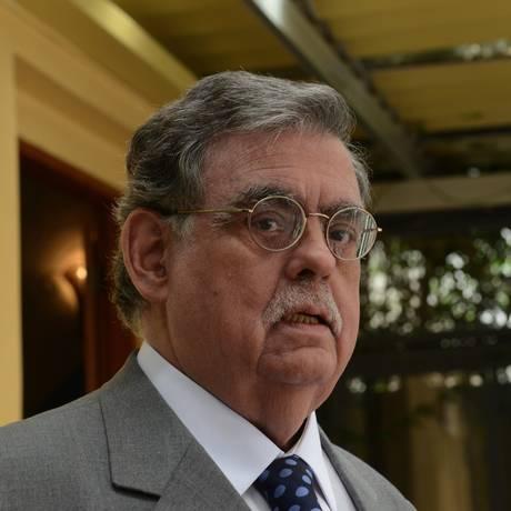 O criminalista Mariz de Oliveira, novamente cotado para o Ministério da Justiça Foto: Regis Filho/Valor/16-10-2012