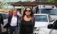 Monica Moura e João Santana realizam exame corpo delito no Instituto Médico Legal em Curitiba. 22/02/2016