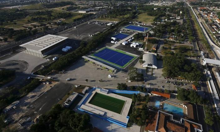 Vista aérea do Parque Olímpico de Deodoro Foto: Ricardo Morares / Reuters