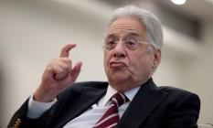 O ex- presidente Fernando Henrique Cardoso Foto: Pedro Kirilos 22/10/2015 / Agência O Globo